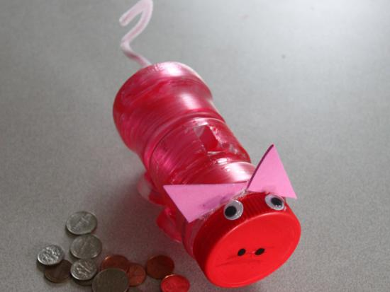 recycled piggy bank by kiwi crate get steam stem projects