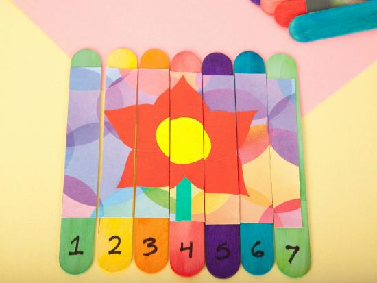 Image result for popsicle stick puzzles