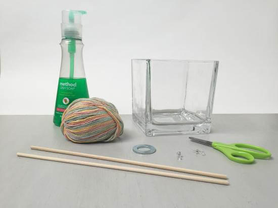 Giant bubble wand by kiwi crate get steam stem projects for Giant bubble wand