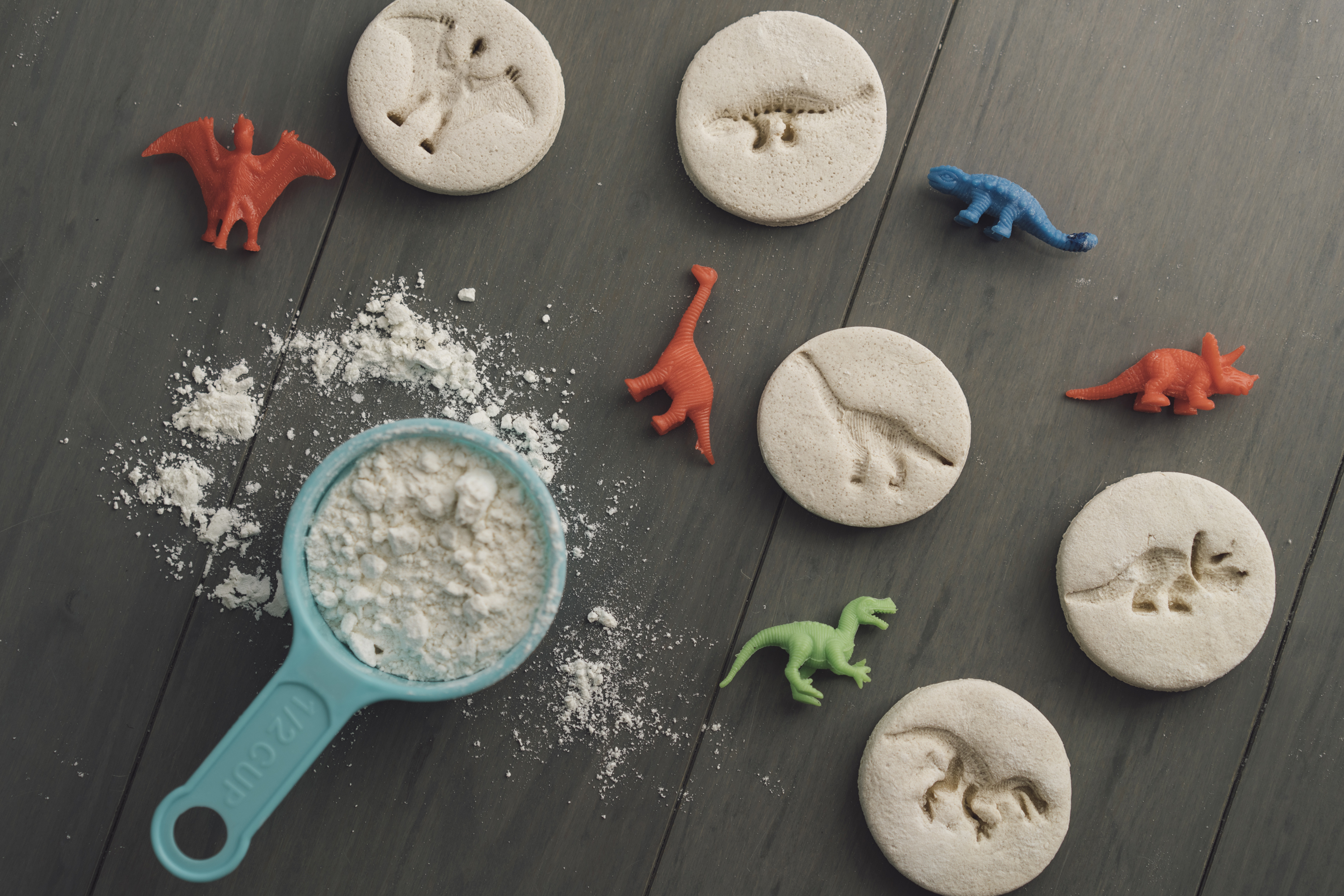 how to make salt dough landforms project