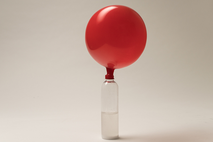 Magic Inflating Balloons