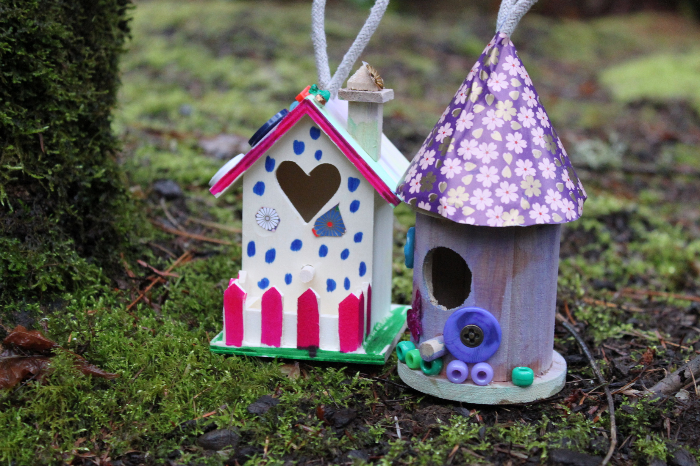 Fairy house for Fairy crafts for toddlers