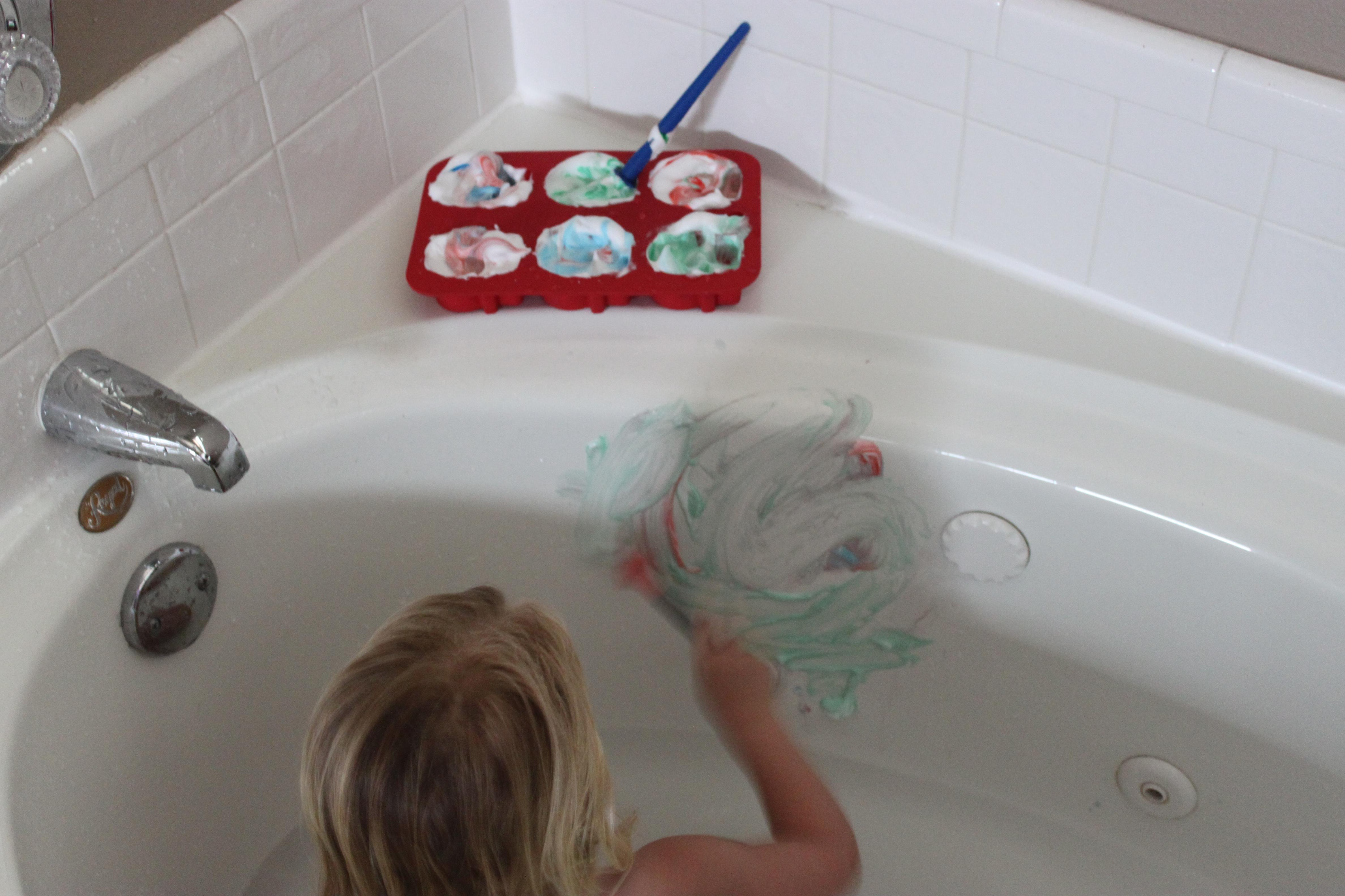 Cream Bath Tub Paint
