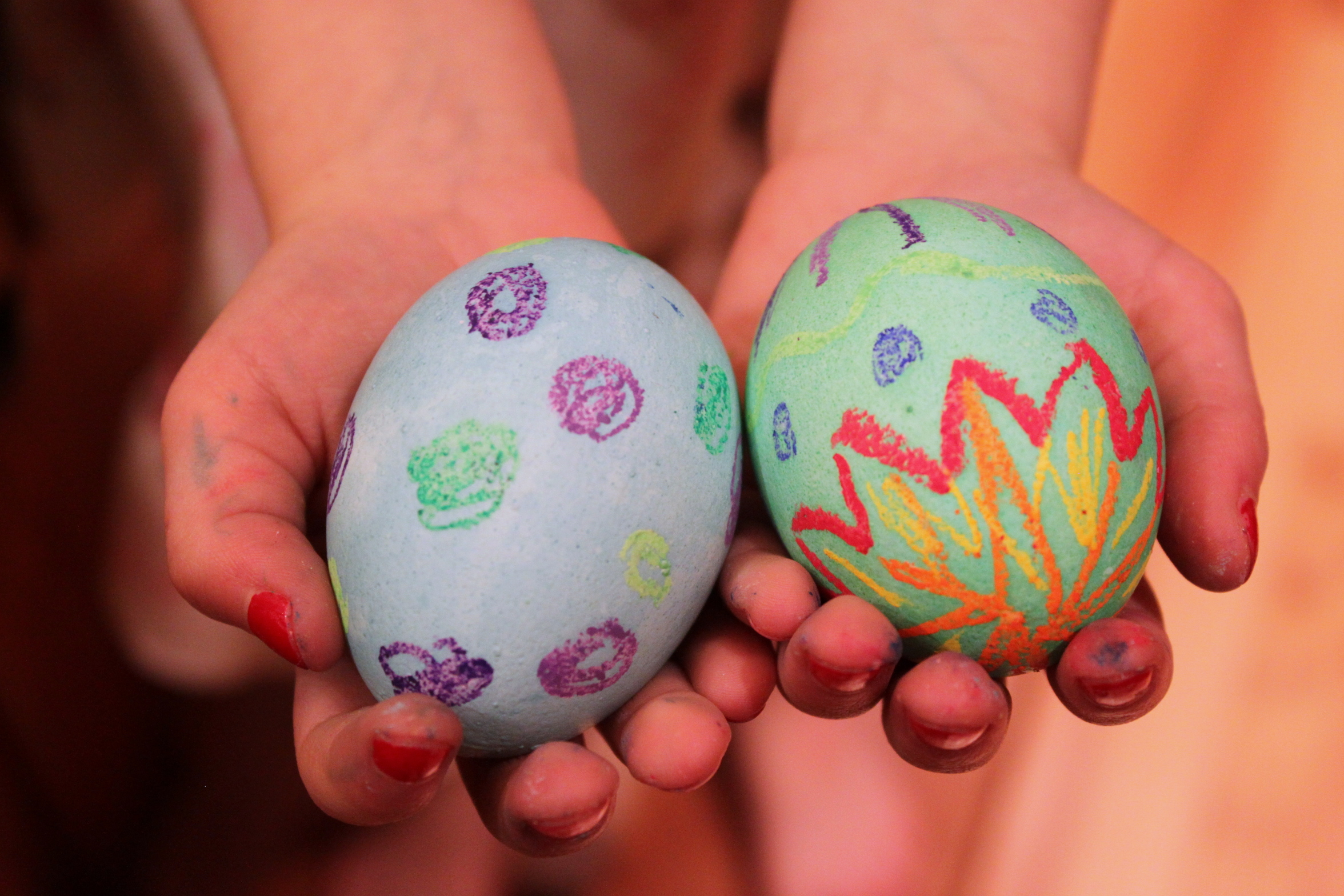 Oil Pastel Easter Egg Decorating by KiwiCo | Get STEAM & STEM Projects